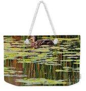 Mallard Pond Weekender Tote Bag