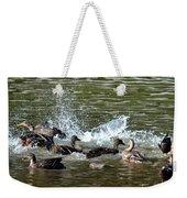 Mallard Water Party 2 Weekender Tote Bag