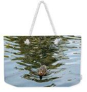 Mallards On Golden Pond 4 Weekender Tote Bag