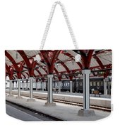 Malmo Train Station Weekender Tote Bag