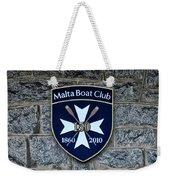 Malta Boat Club Weekender Tote Bag