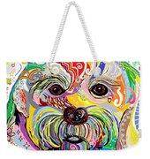 Maltese Puppy Weekender Tote Bag