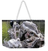 Mama And Child Weekender Tote Bag