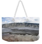 Mammoth Hot Spring Landscape Weekender Tote Bag