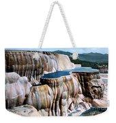 Mammoth Hot Springs Yellowstone Np Weekender Tote Bag