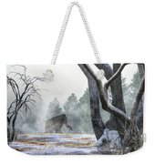Mammoth In The Distance Weekender Tote Bag