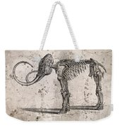 Mammoth Skeleton Weekender Tote Bag