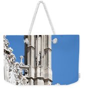 Man And Dragon Gargoyles With Tower Duomo Di Milano Italia Weekender Tote Bag