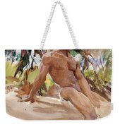 Man And Trees. Florida Weekender Tote Bag
