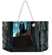 Man At The Top Of The Steps Weekender Tote Bag
