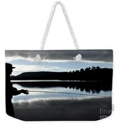 Man Fly Fishing Weekender Tote Bag