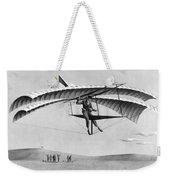 Man Gliding In 1883 Weekender Tote Bag