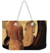 Man In The Mirror Weekender Tote Bag
