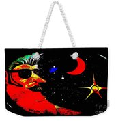 Man In The Moon Edited Weekender Tote Bag