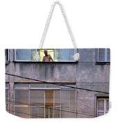 Man In The Window Weekender Tote Bag