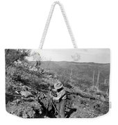Man Mining Ore Weekender Tote Bag