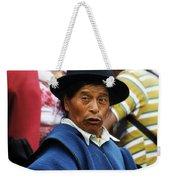 Man Of Cotacachi Ecuador Weekender Tote Bag