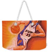 Man On Fire Weekender Tote Bag