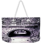 Man Under The Bridge Weekender Tote Bag