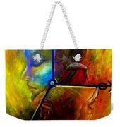 Man Vs Time Weekender Tote Bag