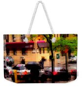 Reflections - New York City In The Rain Weekender Tote Bag