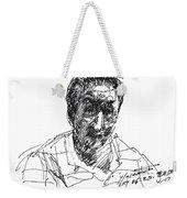 man Weekender Tote Bag