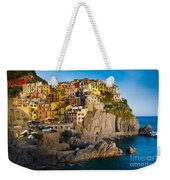 Manarola Weekender Tote Bag by Inge Johnsson