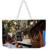 Manarola  Street - Cinque Terre Weekender Tote Bag