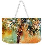Manasota Key Palm 2 Weekender Tote Bag