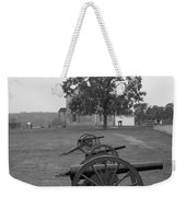 Manassas Battlefield Cannon And House Weekender Tote Bag