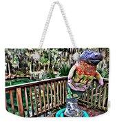 Manatee Color Weekender Tote Bag