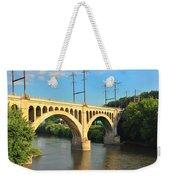 Manayunk Stone Arch Bridge Weekender Tote Bag