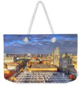Manchester Skyline Panoramic Hdr Weekender Tote Bag