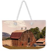 Mancos Colorado Barn Weekender Tote Bag