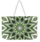 Mandala 107 Green Weekender Tote Bag
