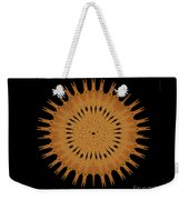 Sand Mandala Weekender Tote Bag