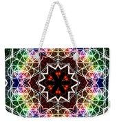 Mandala Cage Of Light Weekender Tote Bag