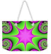Mandala Cheerful Weekender Tote Bag