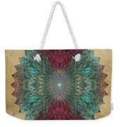 Mandala Crystal Weekender Tote Bag