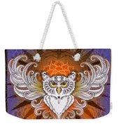 Mandala Owl Weekender Tote Bag