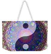 Mandala Yin Yang Weekender Tote Bag