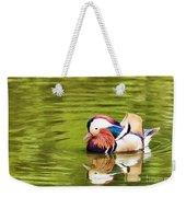 Mandarin Reflection Weekender Tote Bag