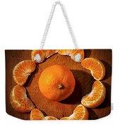 Mandarin - Vignette Weekender Tote Bag by Kaye Menner