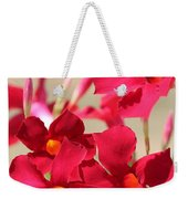 Mandevilla Named Sun Parasol Crimson Weekender Tote Bag