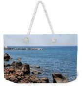 Mandraki Coastline Nisyros Weekender Tote Bag