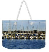 Mandarin Park Boats On Julington Creek Weekender Tote Bag