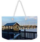 Mandarin Park Boathouse Weekender Tote Bag