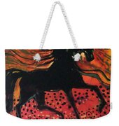Mane In Autumn Light Weekender Tote Bag