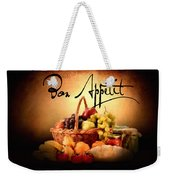Mangia Mangia Weekender Tote Bag by Lourry Legarde