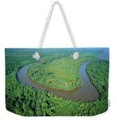 Mangrove Forest In Mahakam Delta Weekender Tote Bag